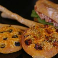 イタリアのパン(フォカッチャ、チャパッタ、グリッシーニ)