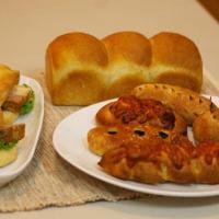 プルーン(生)の天然酵母パン
